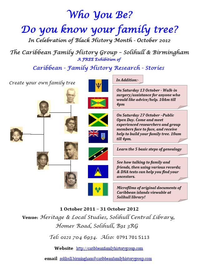 Caribbean family history | Caribbean Roots